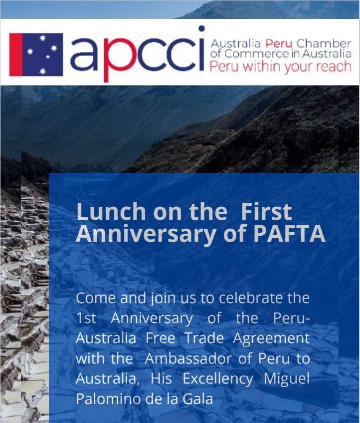 PAFTA 1st Anniversary